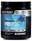 Infinity Forces Pre Workout Powder, Nitric Oxide, Pre Workout Supplements for...