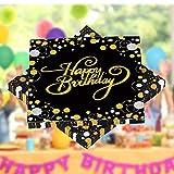 HENGBIRD 32 Stück Servietten Happy Birthday Serviette, Hochwertige Papierservietten für Geburtstag Party Deko Supplies Mundabwischtuch Geburtstag ideal geeignet , Haushalt oder Feste...