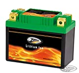 Batería de litio Zodiac larga duración High Performance alta capacidad máxima punto para moto Harley-Davidson ModelliDyna FXR años 1982-1994