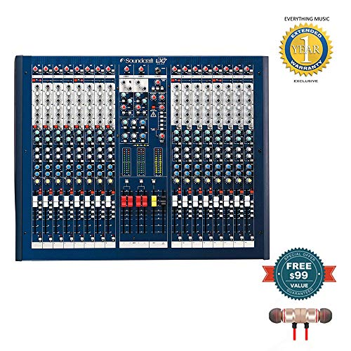 Best Deals! Soundcraft LX7ii 16-Channel Mixer