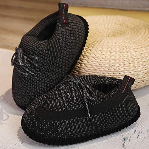 Zapatillas De Baloncesto Para Hombre / Mujer, Zapatillas Cálidas De Invierno, Zapatillas Para El Suelo De La Casa, Zapatillas Divertidas Para Interiores, Zapatillas Para Mujer, Zapatillas De Invierno