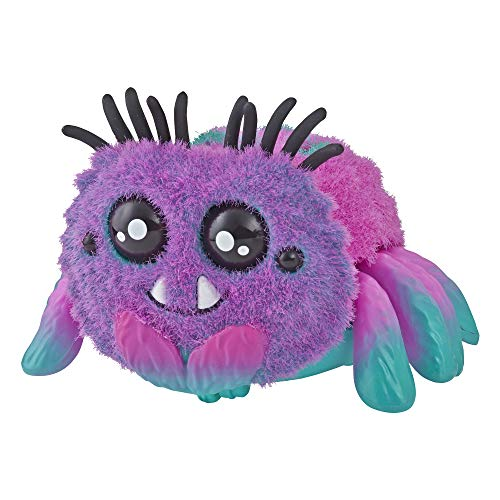 Yellies Toofy Spooder; Voice-Activated Spider Pet; Ages 5 and Up