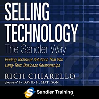 Selling Technology the Sandler Way cover art