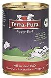 Happy de barf 250g Terra de pura supplemente Alimentos para complementar barf