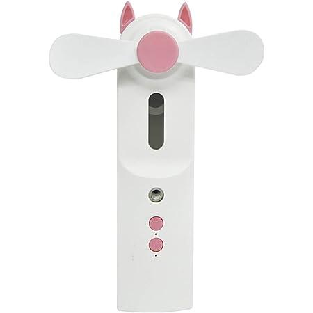 Yosemite Mini ventilateur portable de 30 ml avec brumisateur d'eau rechargeable par USB pour bureau à domicile – Rose