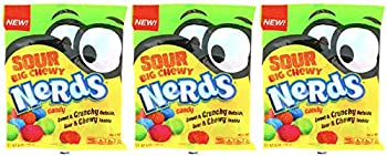 Nerds Sour Big Chewy Candy Pack of 3