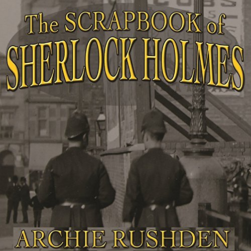 The Scrapbook of Sherlock Holmes audiobook cover art