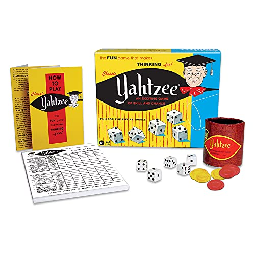 Yahtzee would be a great gift ideas for the letter Y.
