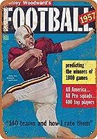 1957フットボールマガジンコレクティブルウォールアート