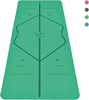 Liforme Original Yoga Mat - The World's Best Eco-Friendly, Non Slip Yoga Mat with The Original & Unique Alignment Marker System - Made with Natural Rubber - Biodegradable Yoga Mat