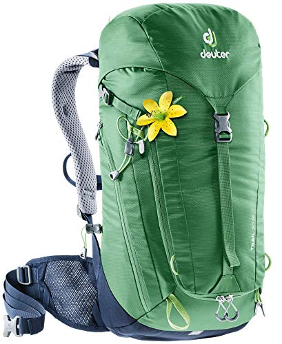 Deuter Women's Trail 28 SL Rucksack, Leaf-Navy, 59 x 32 x 19 cm, 28 L