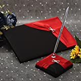 KateMelon Wedding Accessories Black and Red...