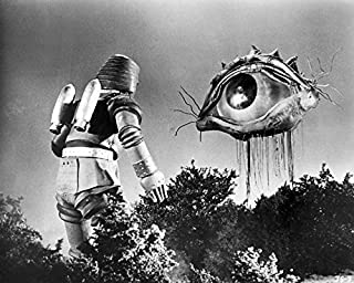 Johnny Sokko And His Flying Robot Giant Eyeball Japanese Monster 16x20 Canvas