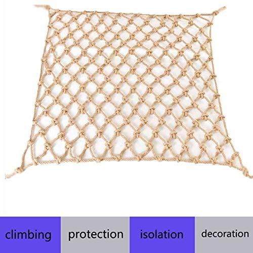 Kinderen Bescherming Veiligheid Touwnet - Indoor Balkon Trapleuning Hek Bescherming Net Plant Klimmen Groei Tuin Net Tuin Net Kattennet (6mm Touwhoogte 10cm Gat) (Size : 2×3m)