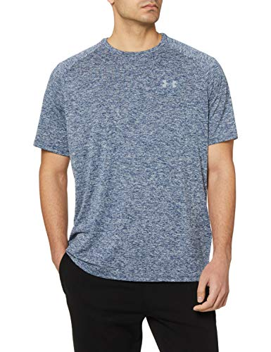 Under Armour Men's Tech 2.0 Short Sleeve T-Shirt , Academy Blue (409)/Steel , 3X-Large