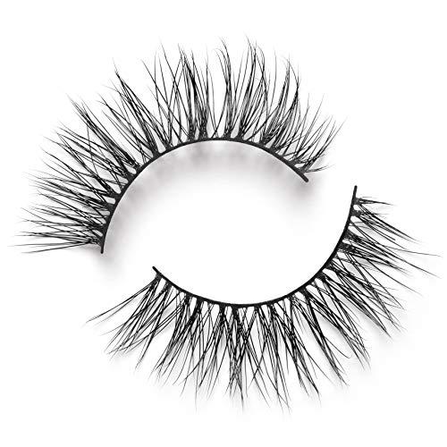 Lilly Lashes Opulence - Lite Mink False Eyelash - Lightweight & Easy-To-Apply - 17mm