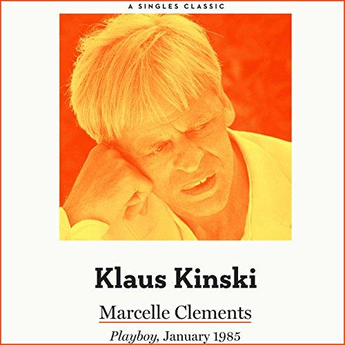 Klaus Kinski audiobook cover art
