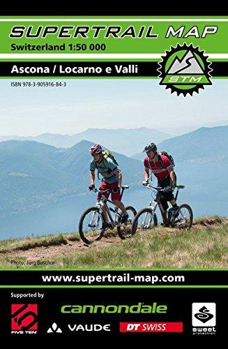 Supertrail Map Ascona / Locarno e Valli: Maßstab 1:50 000