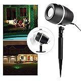 Salcar LED Lichteffekt Dekoration, innen/außen IP65 LED Projektor, 3 Farben/Modi Party Licht