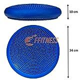 Zoom IMG-1 ffitness balance cushion nero taglia