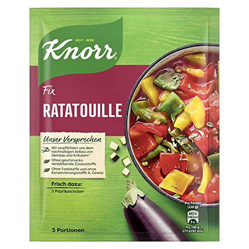 Knorr Fix Ratatouille 3 Portionen