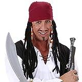 WIDMANN - Bandana Pirata con Capelli Dreadlocks