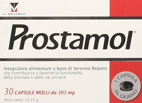 Menarini Prostamol Dietary Supplement 30 Capsules