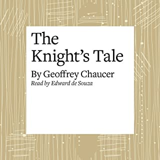 The Canterbury Tales: The Knight's Tale (Modern Verse Translation) cover art