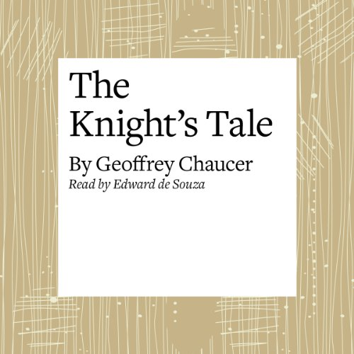 The Canterbury Tales: The Knight's Tale (Modern Verse Translation) audiobook cover art