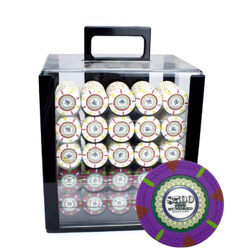 1000 las vegas poker chips - 5