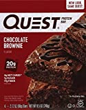 Quest Nutrition Protein Bar, Chocolate Brownie, 12 Count