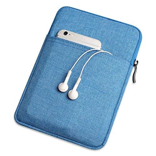 HHF Pad Accesorios para Xiaomi MIPAD 4 MI Pad 4, Caja de Manga de tabletas Suaves Cubierta Protectora Completa para Xiaomi MI Pad 4 8 '' (Color : Azul)