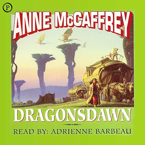Dragonsdawn     Pern, Book 1              By:                                                                                                                                 Anne McCaffrey                               Narrated by:                                                                                                                                 Adrienne Barbeau                      Length: 2 hrs and 53 mins     16 ratings     Overall 3.9