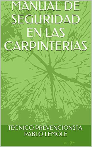 MANUAL TECNICO DE CARPINTERIA