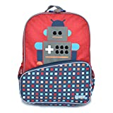 Little JJ Cole Backpack for Kids, Robot, One Size
