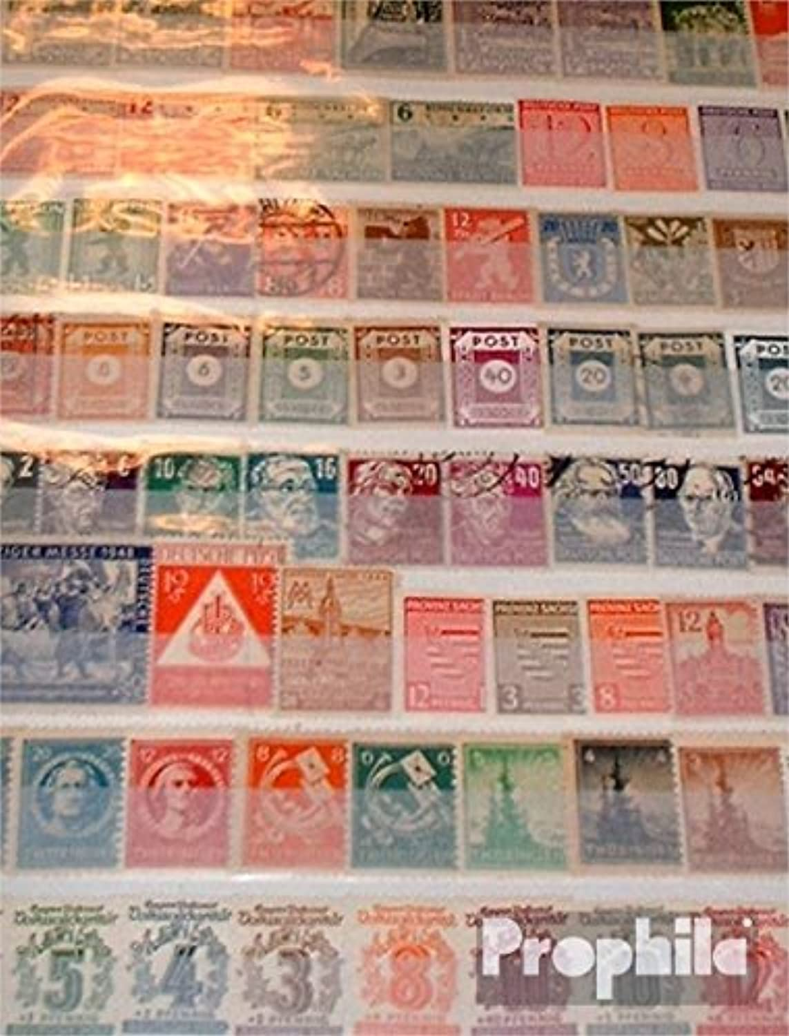 Soviet Zone (Allied.cast.) 150 different stamps with Lokalausgaben (Stamps for collectors)