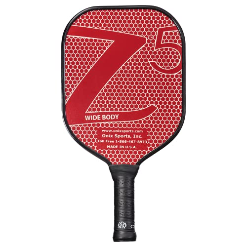 Onix Composite Z5 Pickleball Paddle, Red