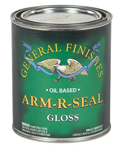 General Finishes Arm-R-Seal Oil Based Topcoat, 1 Quart, Gloss -  AGQT
