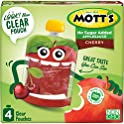24-Pack Mott's No Sugar Added Cherry Applesauce, 3.2 Ounce