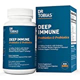 Dr. Tobias Deep Immune Probiotics & Prebiotics Supplement, 60 Capsules