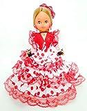 Folk Artesanía Sammelpuppe 35 cm. Andalusisches Flamenco-Regionalkleid mit Kamm España. Ähnliche...