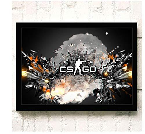 ACUOHU Leinwand Wandkunst Hd Online-Spiele Csgo Poster Und Druck Leinwand Malerei Home Decor Wandbild Kein Rahmen G1129 (40X60Cm)