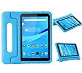 Kids Case for Lenovo Smart Tab M8 2019 with Handle | Blosomeet Lightweight Case for Lenovo M8/M8 FHD Tablet TB-8505FS TB-8705F Kidsproof EVA Cover w/ Stand Protective Case for Lenovo Tab M8 HD | Blue