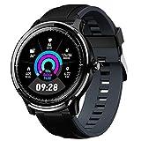 DOOK SmartWatch Pulsera Actividad Reloj Inteligente Deportivo IP68 Bluetooth con Pulsómetro Monitor De Sueño, Música, Cámara Remota, Notificación De Llamada Mensaje para Android E iOS