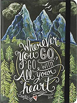 Wherever You Go Go with All Your Heart Journal  Diary Notebook