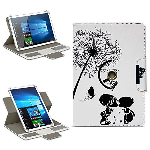 Lenovo TAB3 10 Business / Plus Tasche Hülle Schutzhülle Tablet 360° Hülle Cover, Farben:Motiv 8