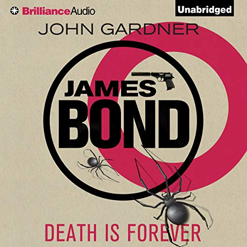 Death Is Forever audiobook cover art