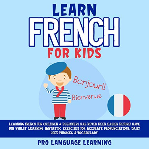 Learn French for Kids cover art