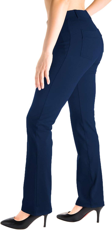Yogipace Dallas Mall Belt Loops Women's Petite Leg Regular Tall Yog Straight Max 60% OFF