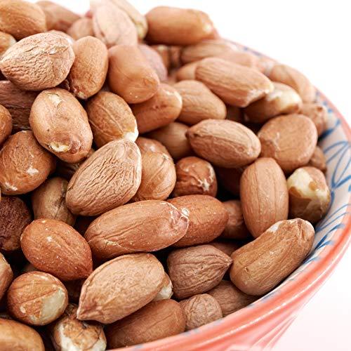Sky | Premium USA Grown Raw Red Skin Peanuts, Vacuum Sealed, Unsalted Raw Peanuts Shelled, Raw Peanut, Raw Shelled Peanuts, Raw Spanish Peanuts for Peanut Brittle, Spanish Peanuts Raw, Indian Peanut, Raw Groundnut (Red Skin, 10lb)